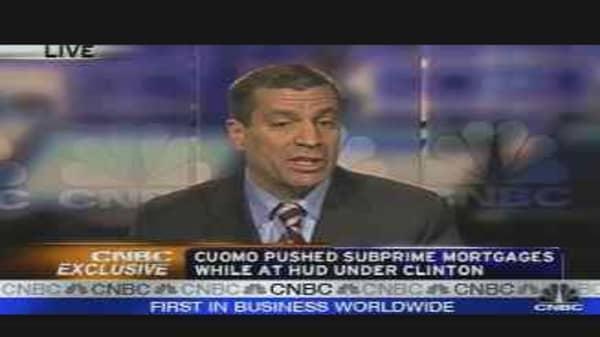 Cuomo's Subprime Connection