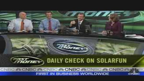 Daily Check On Solarfun