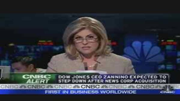 Dow Jones CEO to Step Down