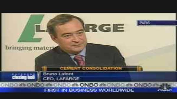 Lafarge CEO on Orascom Buy