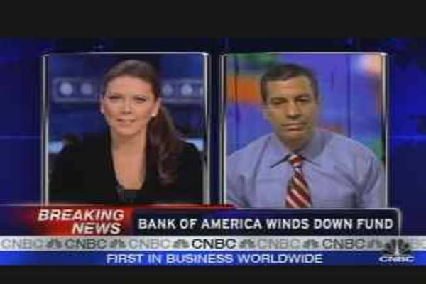 BofA Winds Down Funds