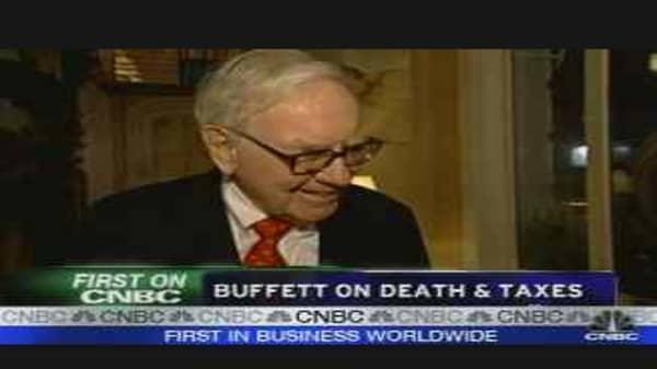 Buffett on Death & Taxes