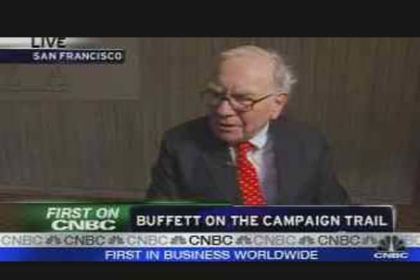 Buffett on Politics, Economy, Pt. 1