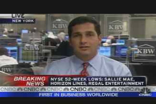 Financials Under Fire