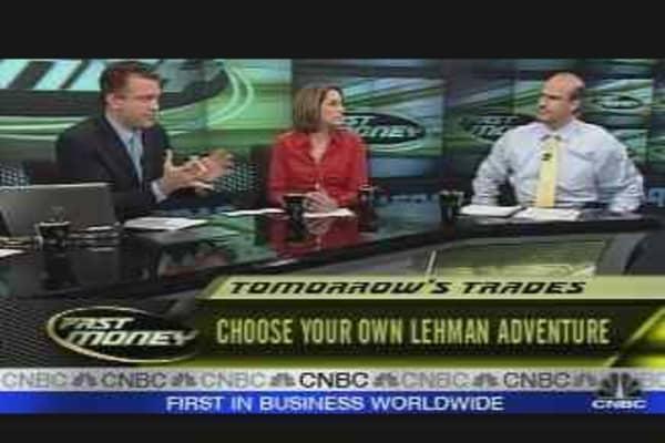 Tomorrow's Trades #1: LEH
