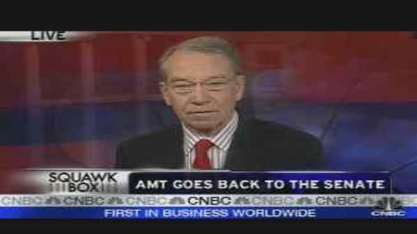 AMT Back in Senate's Hands