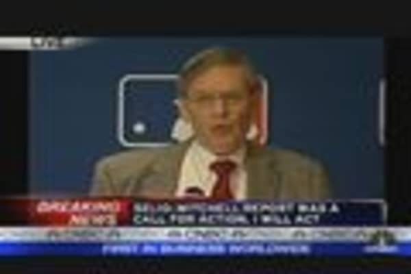 Selig Reacts to Roid Report