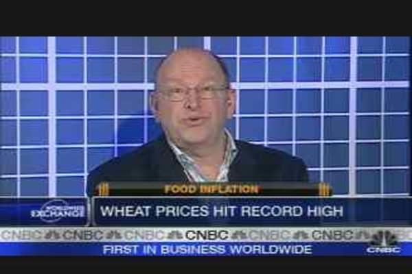 Wheat Hits $10 a Bushel