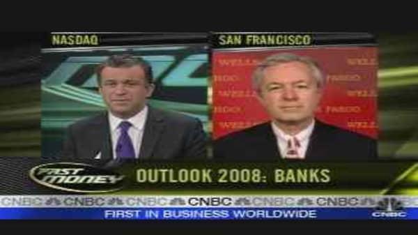 Wells Fargo CEO's '08 Outlook