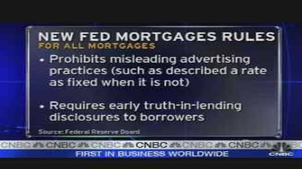 Fed Proposes New Mortgage Regs