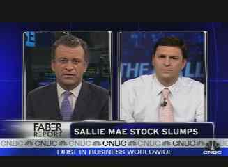 sallie mae tumbles after testy conference call