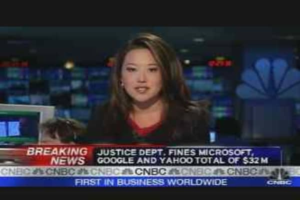 Justice Fines Tech Giants