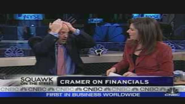 Cramer Talks Financials