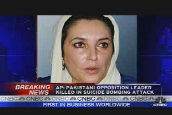 Pakistani Opposition Leader Killed