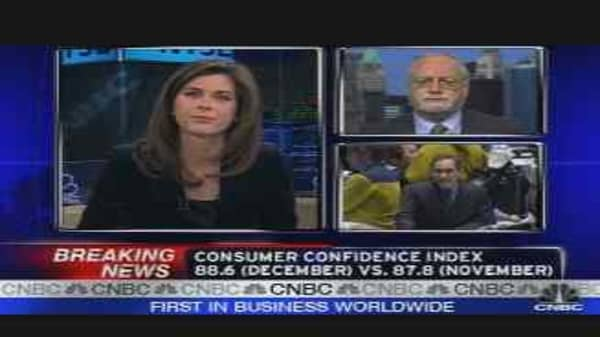 Consumer Confidence Reaction