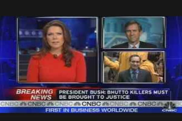 Bhutto Market Reaction