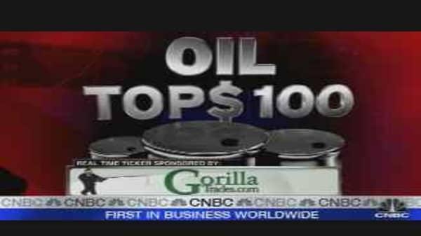 Market Mavens: $100 Oil