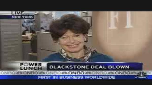 Blackstone Deal Down