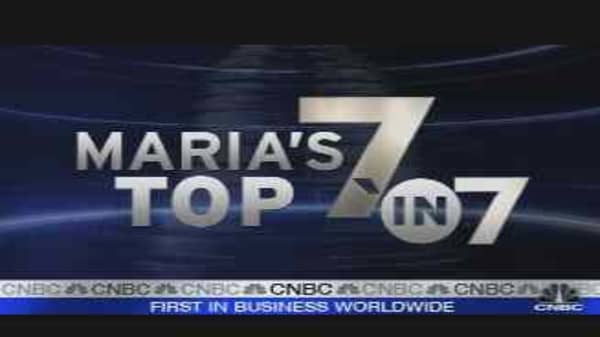 Top Market Stories of '07