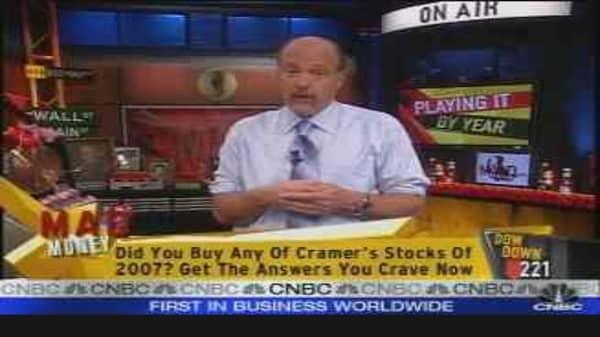 Stocks 2007: Bad Calls