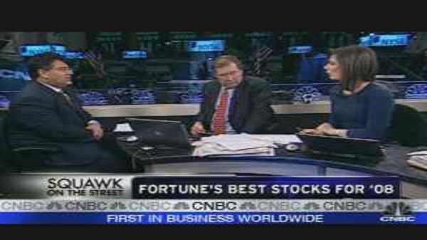 Fortune's Best Stocks for '08