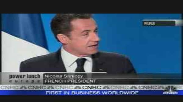 TF1 Shares Jump on Sarkozy Plans