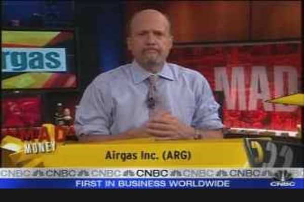 Airgas CEO Talks Sales