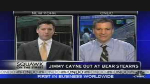 Jimmy Cayne Out at Bear