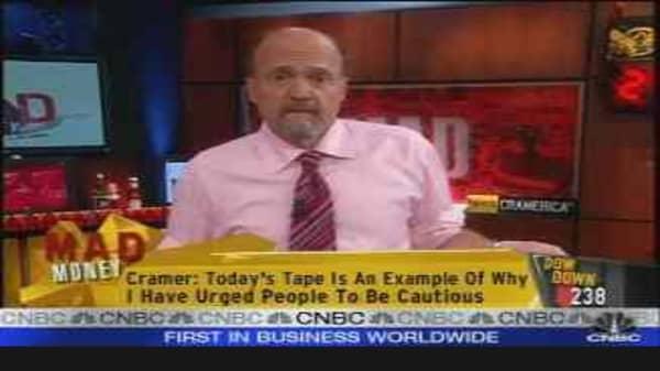Cramer: Bullish on Schultz