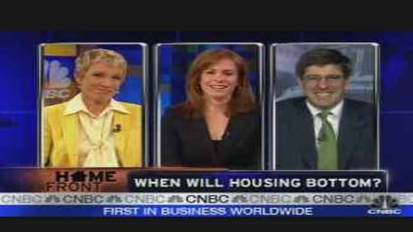 When Will Housing Bottom?