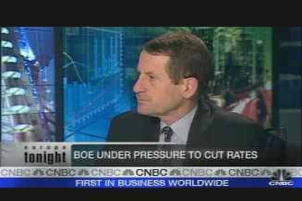 BoE Under Pressure to Cut