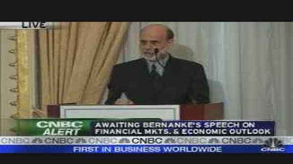 Bernanke's Economic Outlook, Pt. 1