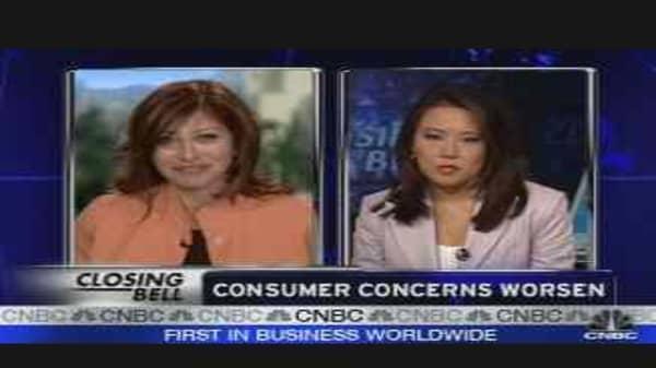 Consumer Concerns Worsen