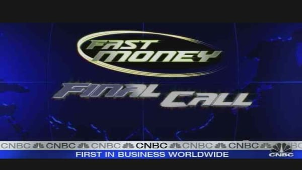 Fast Money Retail Call