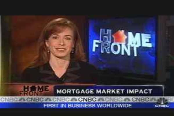 Mortgage Market Impact