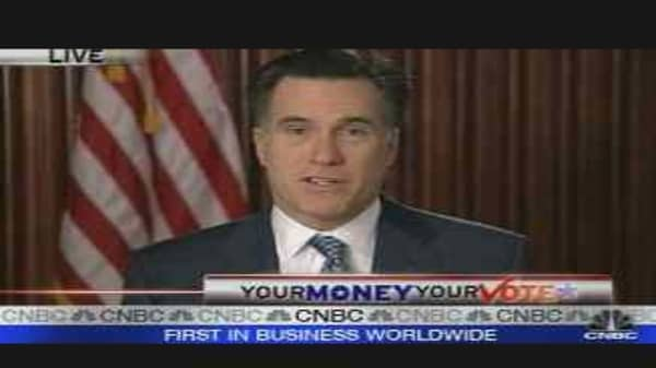 Romney Economic Plan Preview