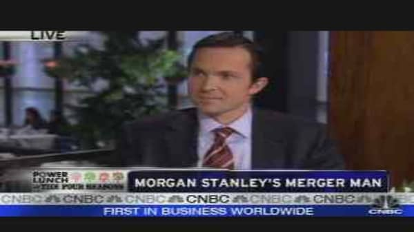 Morgan Stanley's Merger Man
