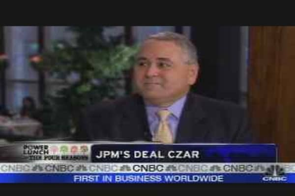 JPM's Deal Czar