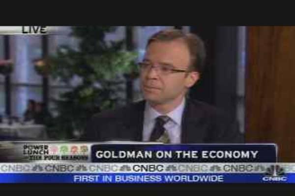 Goldman on the Economy