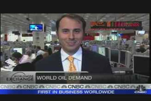 '07 Oil Demand Higher: IEA