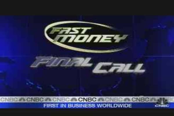 Fast Money: Financial Freefall