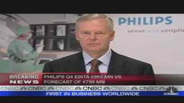 Philips Quarterly Profit Beats Forecasts