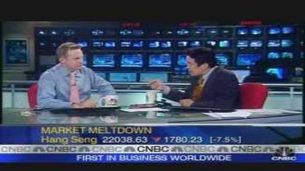 Asia Market Meltdown