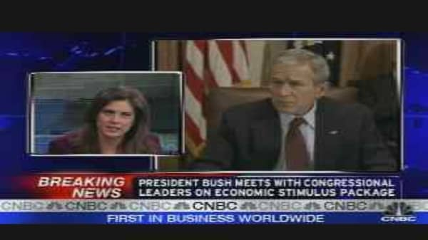 Bush on Economic Stimulus