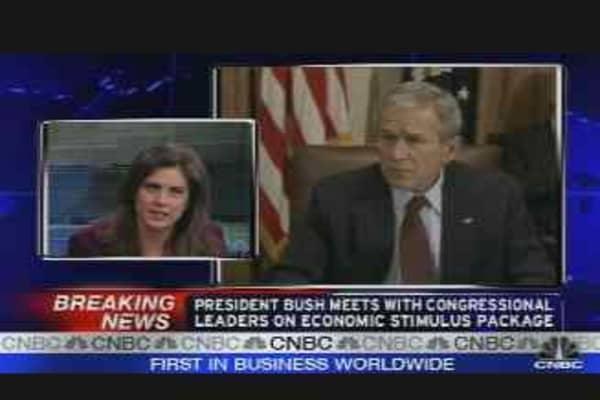Bush on Economic Stimulus