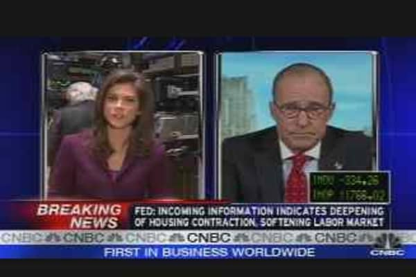 Kudlow on the Fed