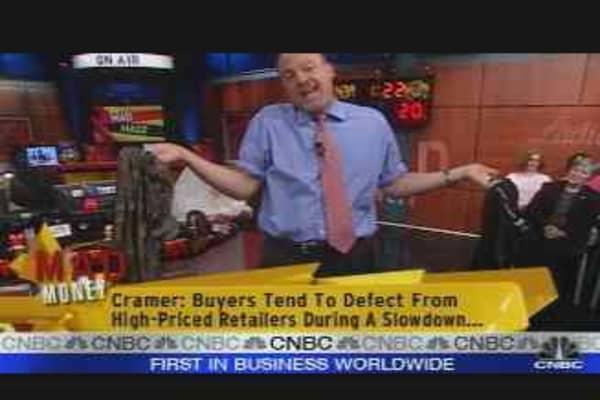 Cramer Eyes TJX