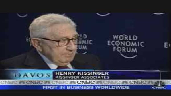 Kissinger on the Global Economy