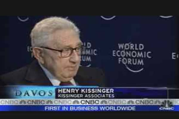 Kissinger on the Global Economy
