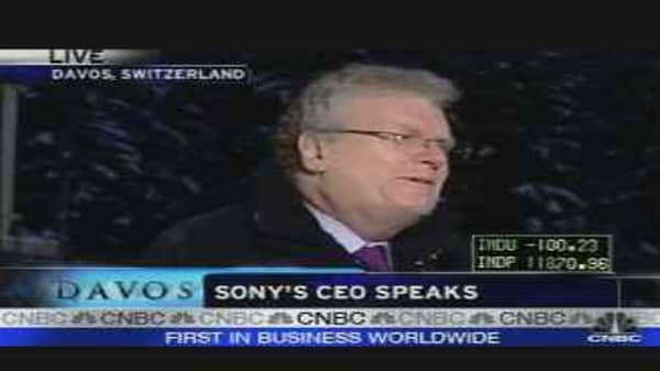 Sony's CEO Speaks